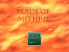 Blade of Mithrril